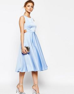 Ted Baker Cut Out Full Skirt Midi Dress. Midi DressesParty ...