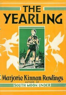 The Yearling is the 1938 novel written by Marjorie Kinnan Rawlings. It was published in March 1938.[1] It was the main selection of the Book of the Month Club in April 1938. It was the number one best seller for twenty-three consecutive weeks in 1938.[2] As well as being the best-selling novel in America in 1938, it was the seventh-best in 1939. It sold over 250,000 copies in 1938.[3] It has been translated into Spanish, Chinese, French, Japanese, German, Italian, Russian and twenty-two…
