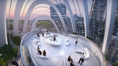 Zaha Hadid Architects wins design for OPPO's new headquarters in Shenzhen with futuristic glass towers Zaha Hadid Architects, Arquitetos Zaha Hadid, China Architecture, Modern Architecture House, Futuristic Architecture, Modern Houses, Zaha Hadid Design, Luz Natural, Win Competitions