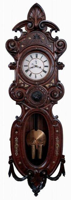 30 Vintage Table Clock Design Ideas Made Of Wood Antique Watches, Antique Clocks, Vintage Clocks, Vintage Watches, Clock Shop, Clock Display, Cool Clocks, Clock Art, Time Clock