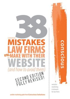 38 Mistakes Law Firms make: get up to date with all the social media your firm can participate in to get in the game! Quite a lot has happened in the world of the Internet since 2007. Facebook had less than 20m users, LinkedIn and Twitter were not on most law firm's radars. The iPhone had not been launched let alone the App Store, the Android OS and iPads dominating the mobile market today.
