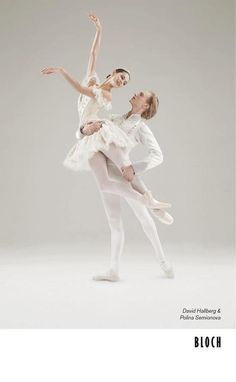 Polina Semionova and David Hallberg Bloch campaign