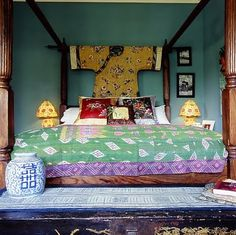 colorful asian room