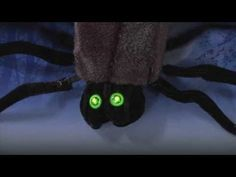 Haunted house diy on pinterest haunted houses haunted for Animated spider halloween decoration
