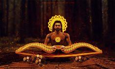 Arjun assembling the Gandiva by Bhargav08