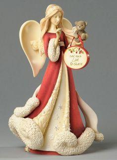 Heart of Christmas Angels by Karen Hahn for Enesco at Fiddlesticks