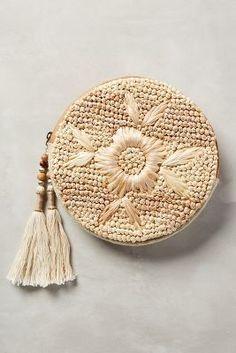 Anthropologie Strawflower Pouch #AnthroFave
