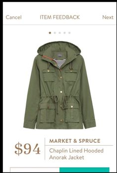 Would like a similar jacket like this - one that is good for fall in NJ