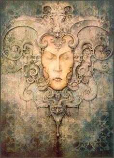 """""""In My Sleep"""" ~ Daniel Merriam ~ Watercolorist Extraordinaire ~ Miks' Pics """"Daniel Merriam lll"""" board @ http://www.pinterest.com/msmgish/daniel-merriam-lll/"""
