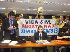 A luta contra o aborto no Congresso Nacional obteve uma vitória na quarta-feira, 21  Vida sim, aborto não!