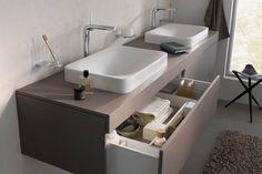 #Bad #Dusche #Armatur #Wohnen #Waschtisch Foto: Keuco // Mehr auf livvi.de