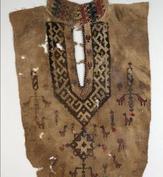 1,000 year old Egyptian embroidery
