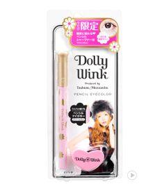 Dolly Wink Pencil Eyecolor Cream Pear   Pencil Sharpner                        돌리윙크 펜슬 아이 컬러 크림 펄 + 펜슬 샤프너