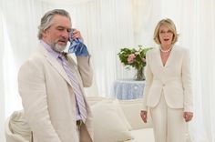 The talents of four Oscar winners, including Robert De Niro and Diane Keaton (above), are wasted in The Big Wedding.