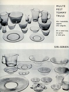 Tableware, Siri, Design, Glass, Dinnerware, Dishes, Design Comics