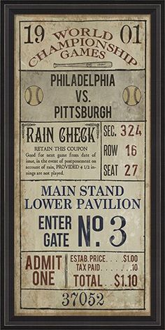 Philadelphia Verses Pittsburgh Framed Wall Art