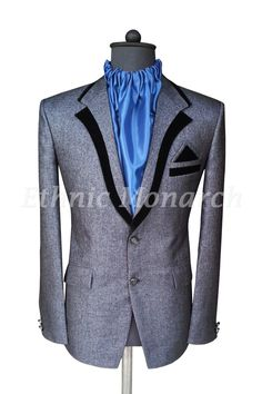 Online Store For Mens Kids Ethnic Sherwani, Breeches,Jodhpuri Suits Mens Casual Suits, Dress Suits For Men, Men Dress, Mens Fashion Blazer, Suit Fashion, Costume Africain, Suit Combinations, Black Suit Men, Dresses For Pregnant Women