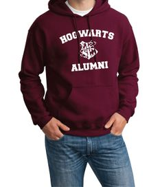 Hogwarts Alumni Hoodie Unisex S M L XL Harry von DougandMelanie