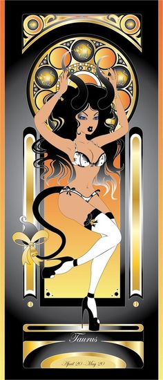 Taurus by ArtistHazzard by alt-couture on DeviantArt Taurus Art, Sun In Taurus, Taurus Bull, Taurus Traits, Astrology Taurus, Zodiac Signs Taurus, Taurus Woman, Taurus And Gemini, Astrology Signs