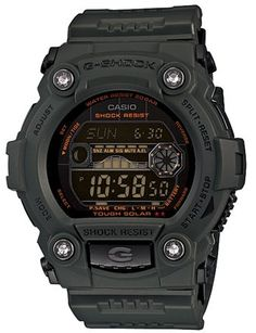 Casio G-Shock Military Green Multi-Function Digital Mens Watch GR7900KG-3CR