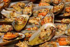 Baked Tahong - Baked Mussels. Baked Tahong Filipino Recipe #Foods #Recipes