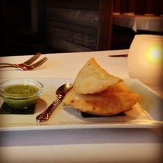#SPECIALS #West Hartford, #CT 2-1-13 ~Empanadas de Mariscos: #Lobster & #crab empanadas served w/ an #avocado #salsa verde