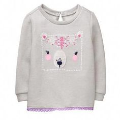 Gymboree Fox Face Sweater Baby /& Toddler Girl Clothes 12m 18m 24m 2t 3t