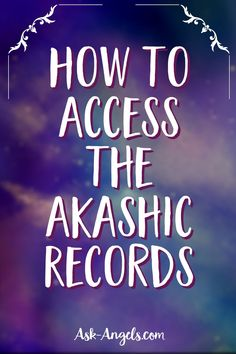 The Akashic Records or Book of Life, records everything in existence in the Etheric Field. Learn how to Access and Read these records for your benefit now! Spiritual Guidance, Spiritual Awakening, Out Of Body, Akashic Records, Psychic Development, Psychic Abilities, Past Life, Book Of Life, Third Eye