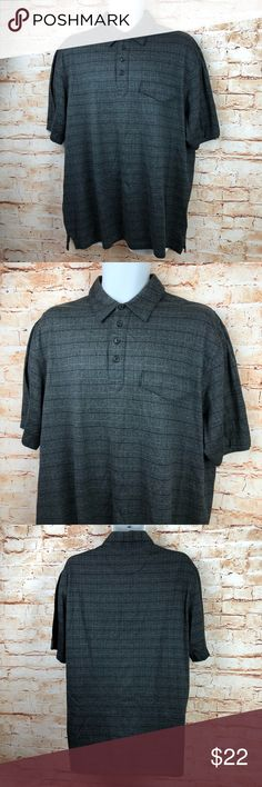 Greg Norman Polo Button Casual Short Sleeve Shirt This shirt is in very good, lightly worn condition. Please see pics for meaurements and more details (: Greg Norman Shirts Polos