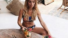 Bikinis, Swimwear, Meals, Sport, Food, Fashion, Poster, Bathing Suits, Moda