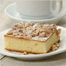 Gluten Free Cinnamon-Streusel Sour Cream Coffeecake by King Arthur Flour