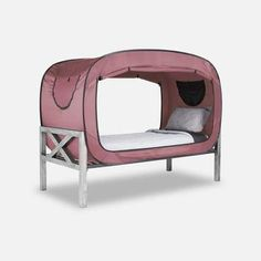 Privacy Pop Bed Tent Twin XL PINK * You can get additional details at the image link. (This is an affiliate link and I receive a commission for the sales) Tent Camping Beds, Camping Table, Outdoor Camping, Camping Shop, Glamping, Camping Storage, Truck Camping, Camping Outdoors, Bed Tent Twin