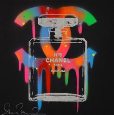 Dark Cosmo by Shane Bowden Cellphone Wallpaper, Iphone Wallpaper, Chanel Art, Chanel Perfume, Coco Chanel, Tableau Pop Art, Cute Wallpaper Backgrounds, Colorful Wallpaper, Black Wallpaper