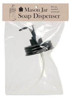 Farmhouse (4pk) MASON JAR PUMP SOAP DISPENSER LIDS Rustic Primitive Country #Unbranded