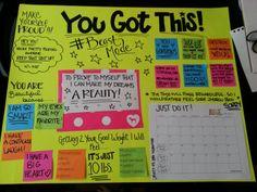 Becoming Fitness Ready- Danielle Rend: Bombshell / 21 DAY FIX Challenge Homework -- MOTIVATIONAL DREAM BOARD!