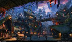 GreenShadow Town, Yang Bo (3D)
