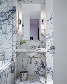 Small Bathrooms Elle Decor 11 chic & stylish powder rooms featuring waterworks | waterworks
