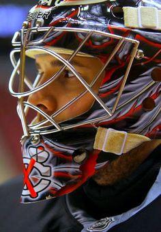 Corey Crawford of the Chicago Blackhawks