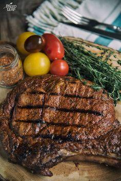 Ribeye Steak with Texas-Style Rub