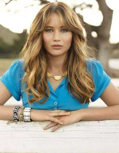 Jennifer Lawrence Long Haircuts