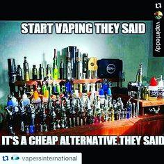 @vapinteddy @vapersinternational This is so true! We here at #innervapor are all #vapaholic s! You cant put a price on being able to breathe again.  #innervapormovement ___________________________ #vape #vapelife #drip #driplife #vapingstyle #instavape #VapeLove #vapecommunity #VaporJuice #vapeporn #vapeon #mod  #proudtovape #vapeoftheday #handcheck #vapestrong#Cloudchaser #dailyessentials #EastCoastVapers #SubOhmClub #Nofilter #Lehighvalley  #DreamChaser #philadelphia #intelligenceissexy…