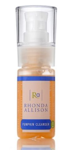 Rhonda Allison Pumpkin Cleanser is a natural, all-purpose daily cleanser that eliminates dirt, oil, and other debris while protecting against free radical damage. Milk Cleanser, Facial Cleanser, Pumpkin Seed Oil, Benzyl Alcohol, Shea Butter, Skin Care, Cleansers