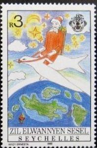 Sello: Christmas (Seychelles) (Zil Elwannyen Sesel) Mi:SC-ZE 160,Yt:SC-ZE 176