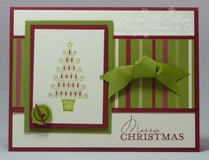 Easy Christmas cardmaking