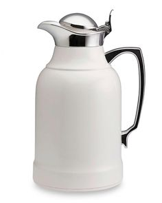 Keep coffee hot and at the ready with the Alfi thermal carafe ($179 for small, williams-sonoma.com).