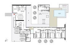 plantas de casa com patio interno - Pesquisa Google
