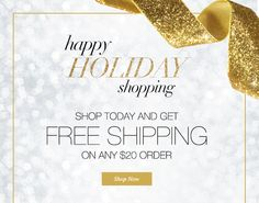 Tis the Season Thursday! Today' s Special is FREE SHIPPING on any $20.00 order. Ends Midnight  Friday 11/20/2015 Shop my Avon e-store at https://www.youravon.com/charleneperret Thank you for supporting a woman/mom entrepreneur! Charlene Perret, Louisiana - Your Online Avon Rep