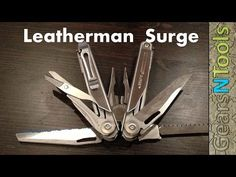 Leatherman Surge Is the Wave On Steroids Multi-Tool Review - YouTube