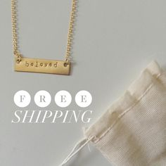 Announcing our Mother's Day Sale on BeLoved necklaces \\ handmade by survivors of sexual exploitation, $22, no s+h, no code needed!   We love seeing all these orders for the special Mother in your life! Sale ends May 2 at 12 AM EST. #mom #mothersday #beloved #sale