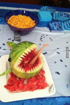 Jaws themed movie night